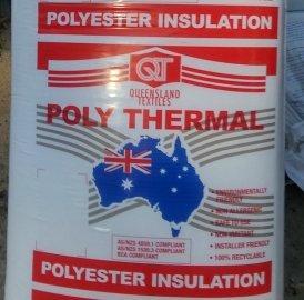 polyester insulation batt