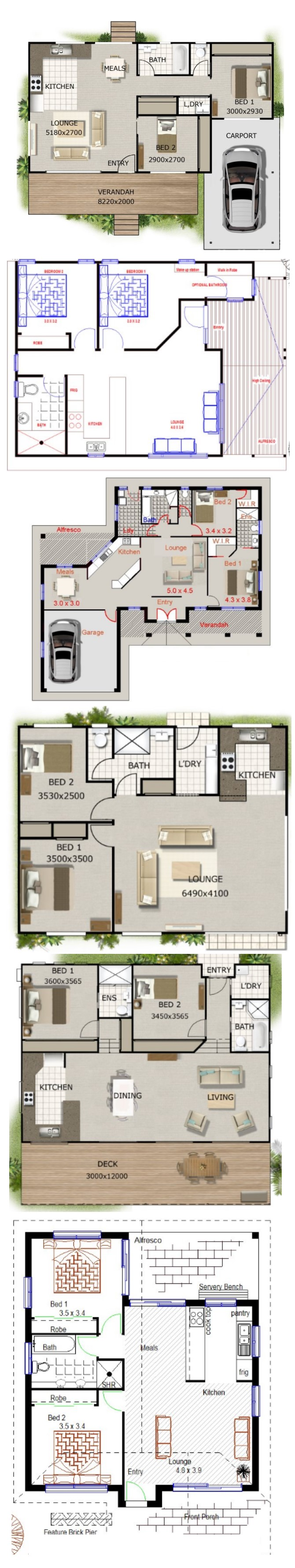 Small House Plans For Kit Homes