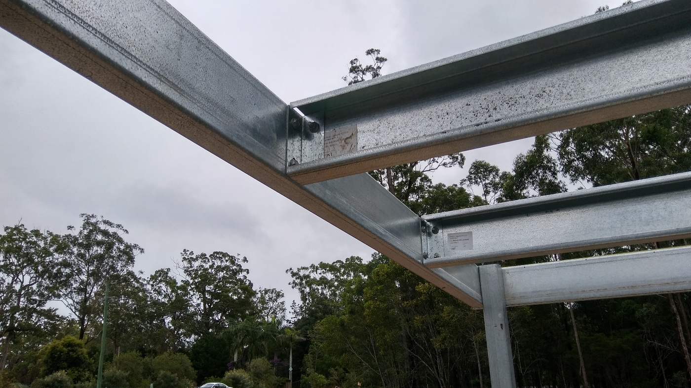C section rafters and purlins
