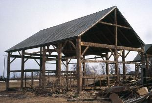 barn frame template