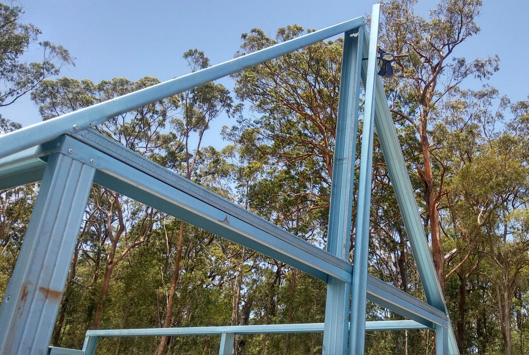 Garden shed truss