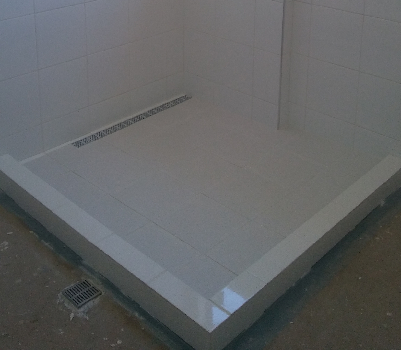 shower floor