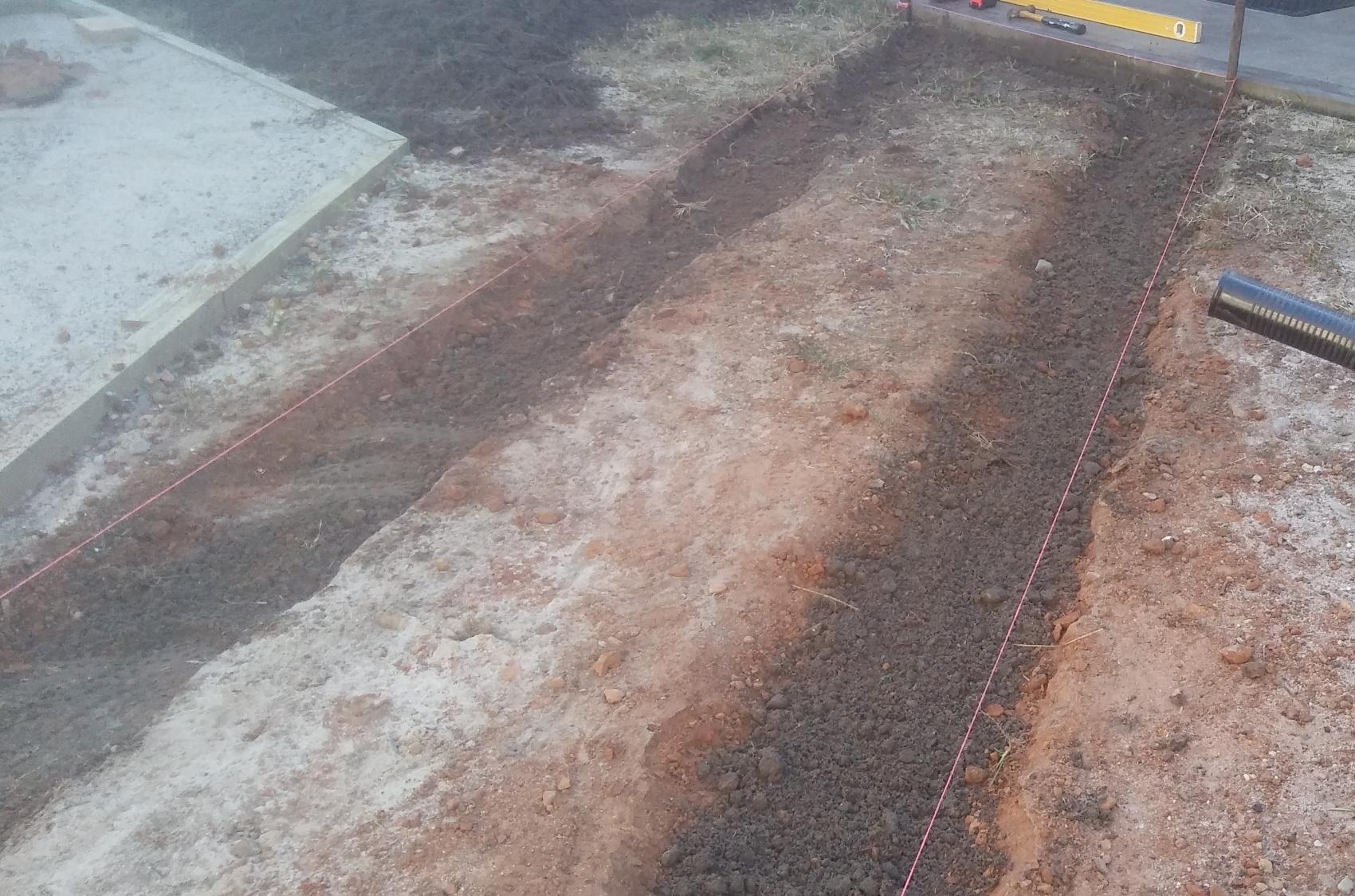 sleeper path excavation
