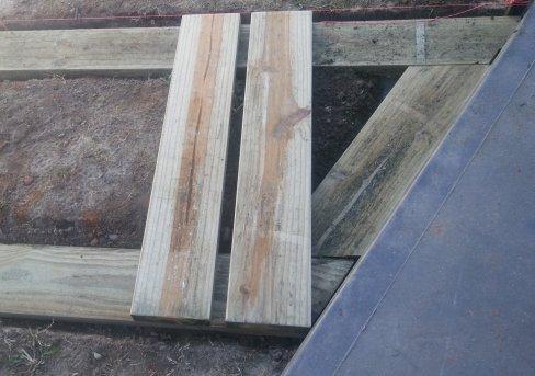 sleeper foundation rail