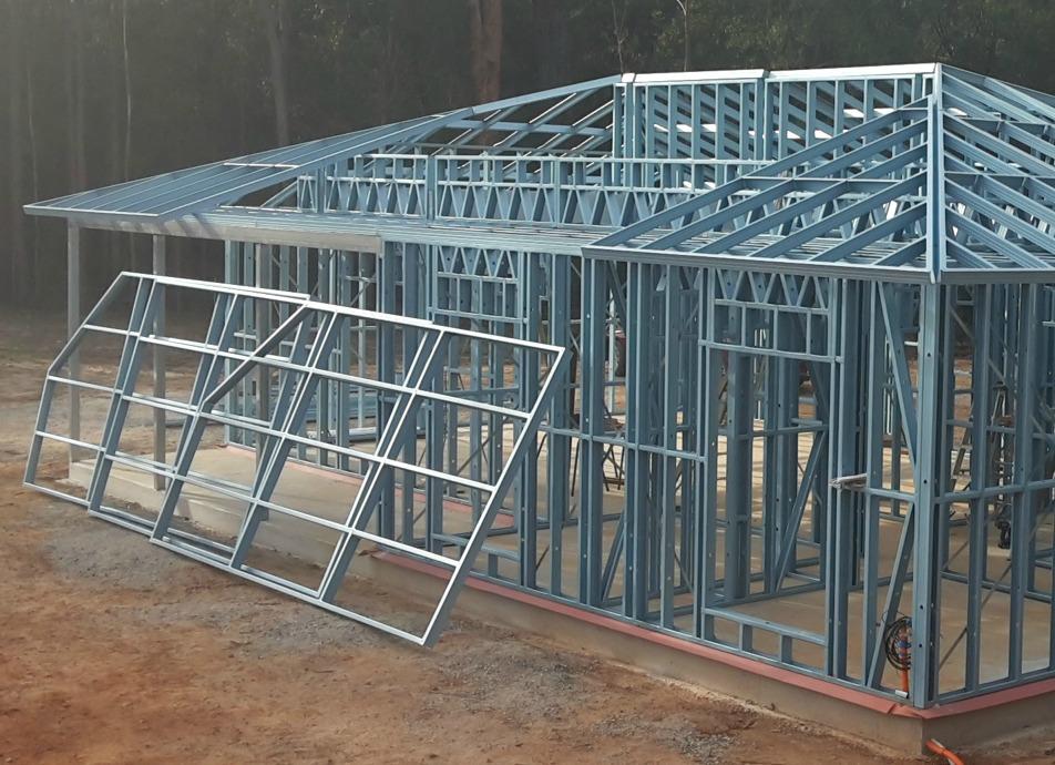 steel roof frames