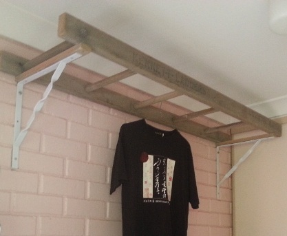 Ladder clothes dryer