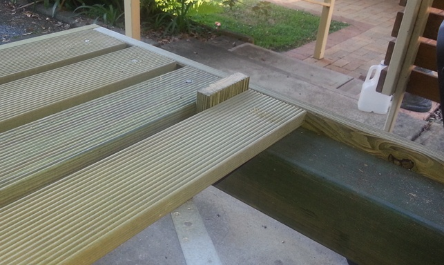 Portable Building A Deck : Build your own deck ground level and portable