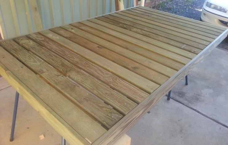 Portable Rv Deck : Build your own deck ground level and portable