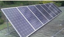 Tilt frame solar array