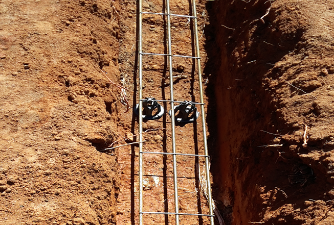 trench reinforcing