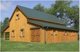 Barn Kit Home To Lock Up