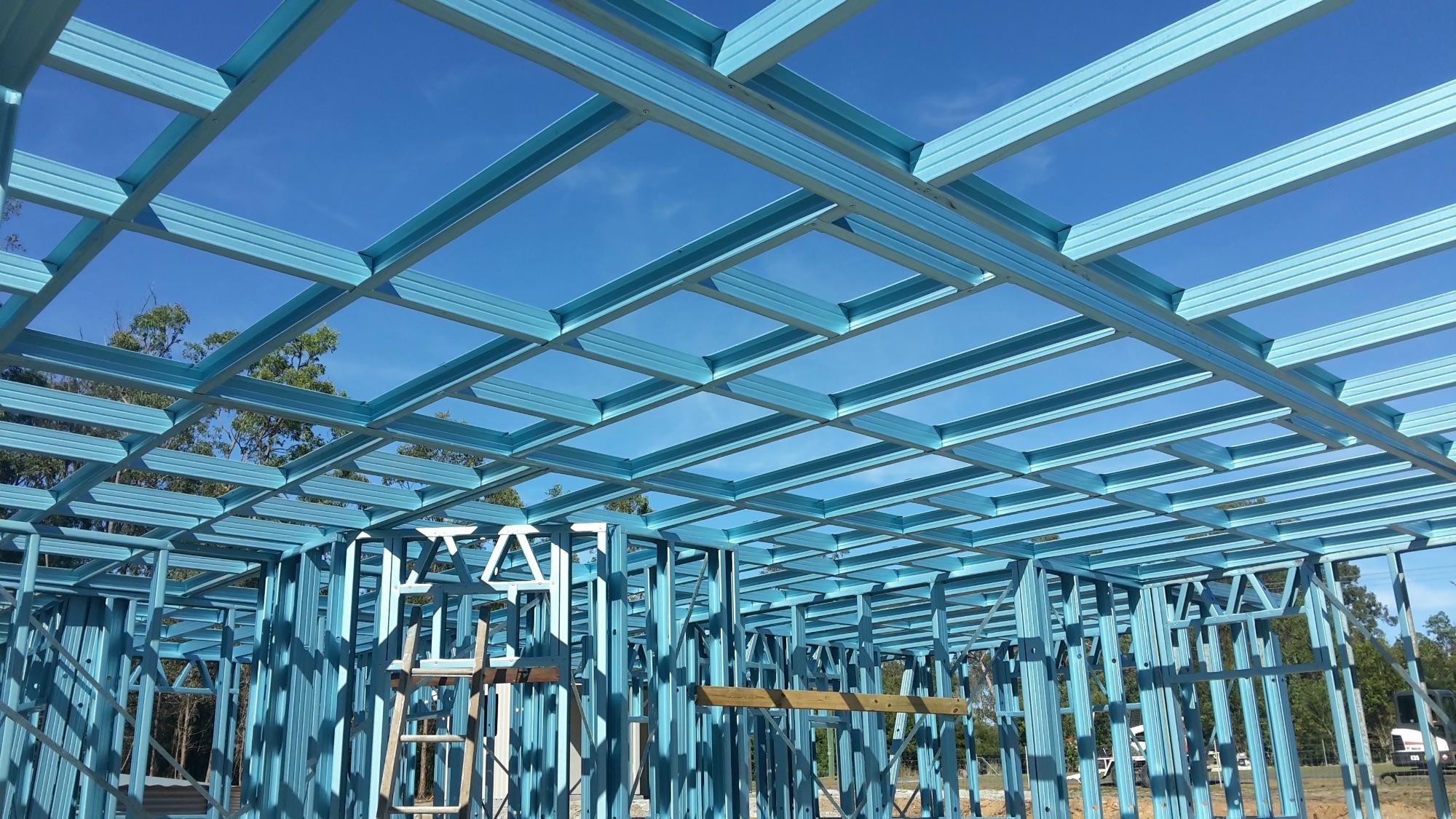 steel ceiling frames