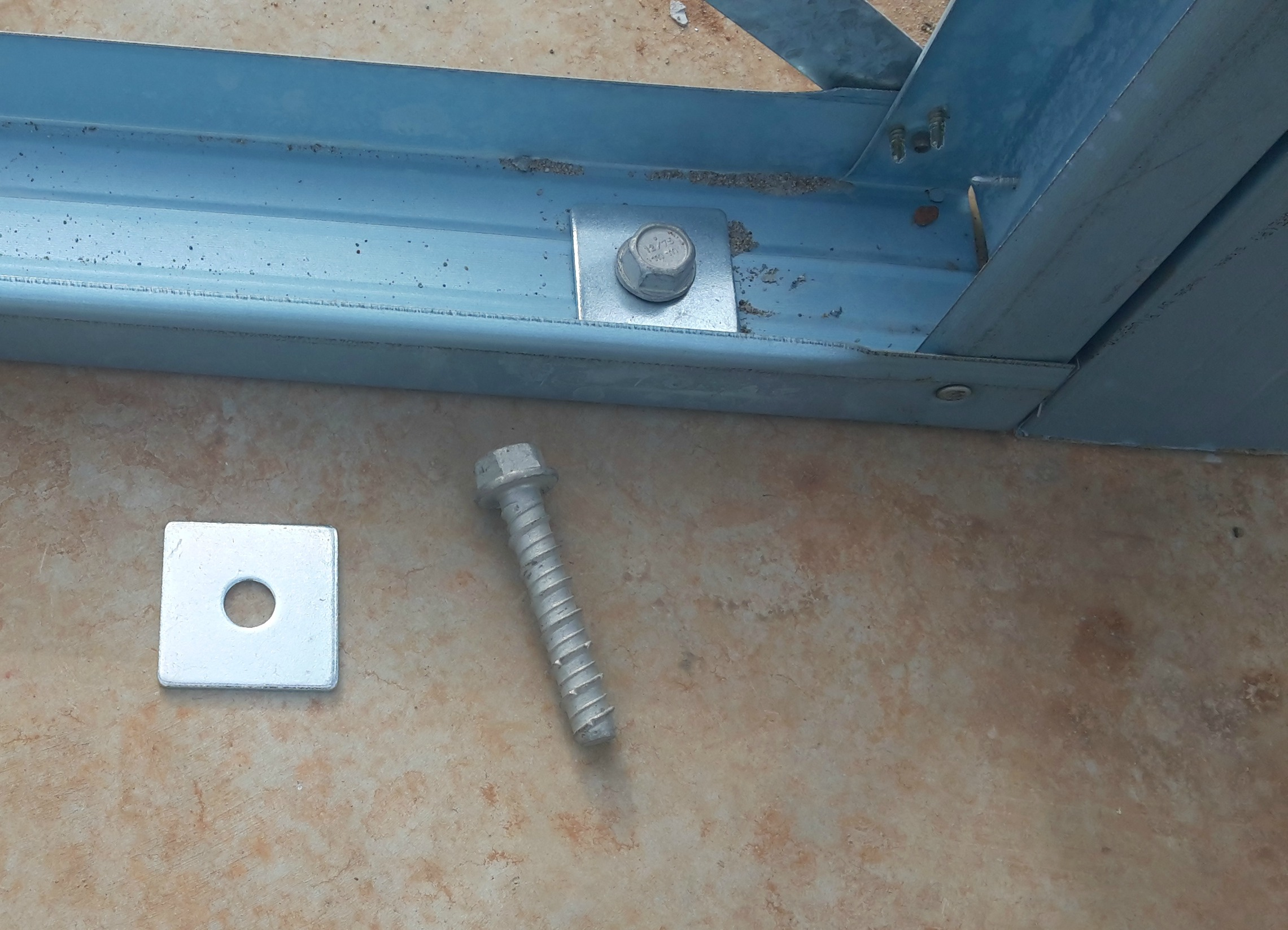 Building Frame Bolt : House construction of steel kit homes