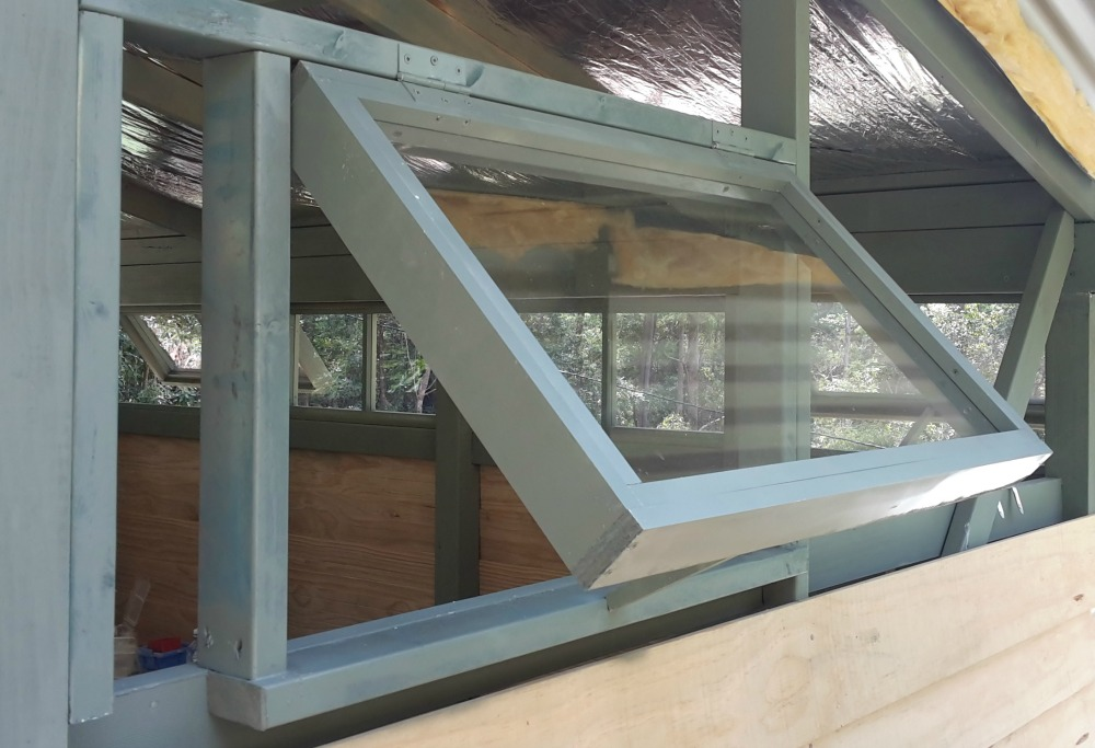 Shed window installation for Garden shed 3x5