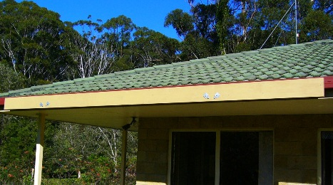 Attached pergola top plate