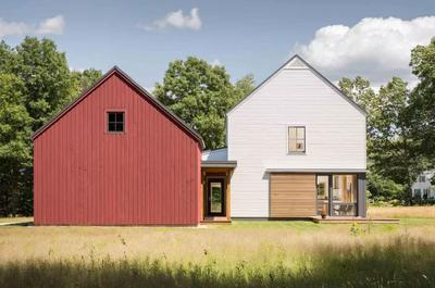 Prefab Homes With Rural Modernism Assembled In 2 Weeks