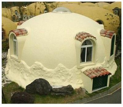 Prefab Styrofoam Dome House Another Futuristic Japanese