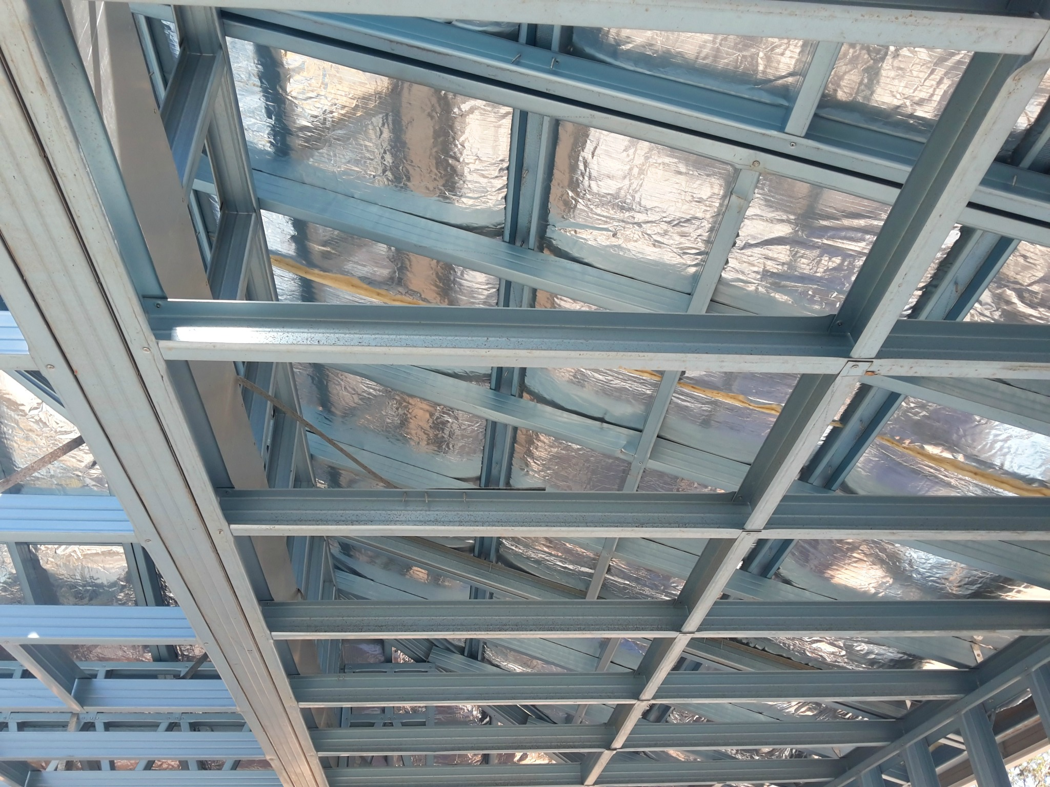 steel roof insulation