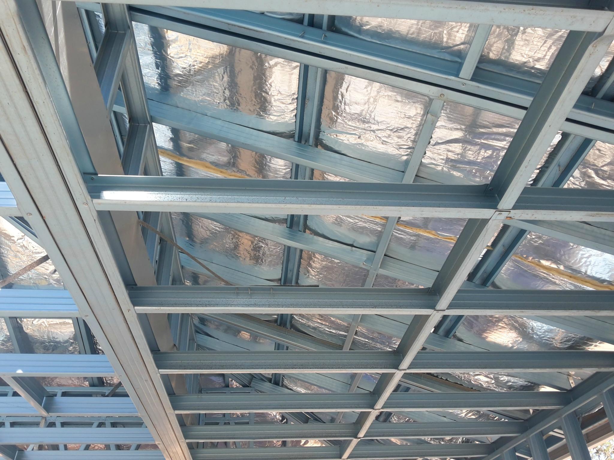 steel roof insulation