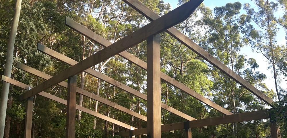 shed roof joists