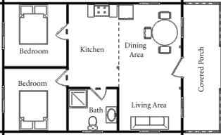 2 Story Floor Plans w/o garages from DrummondHousePlans.com