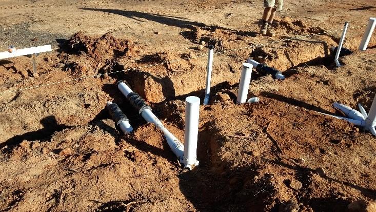 underslab plumbing