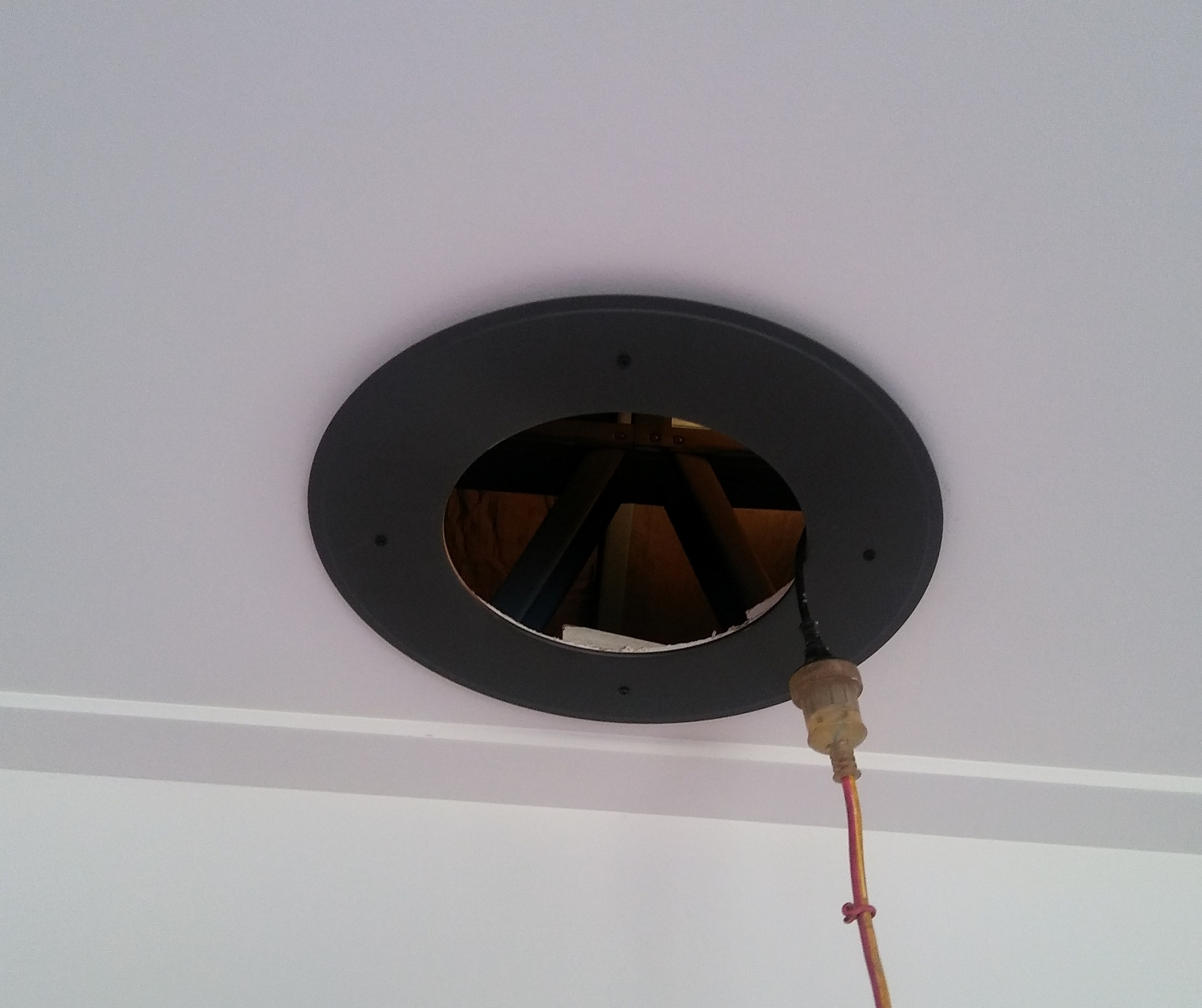 wood heater flashing ring