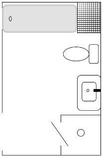 Kit bathroom plan