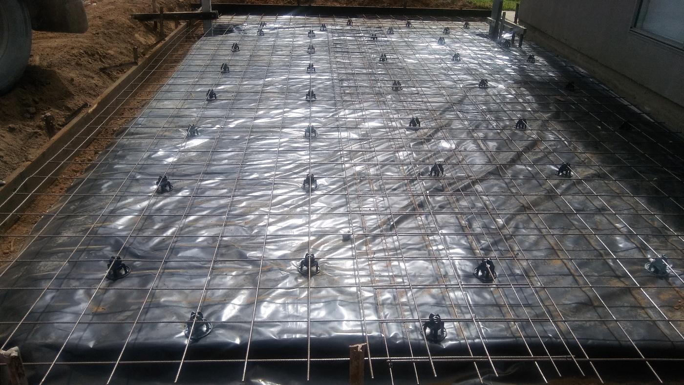 concrete reinforcing