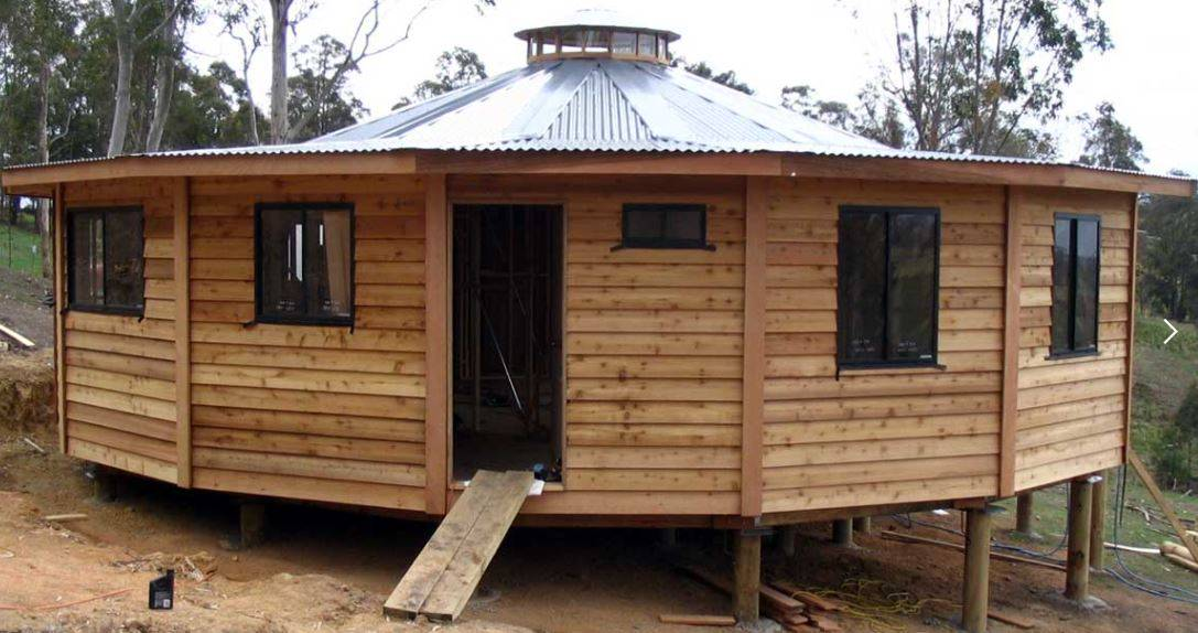 Yurt Homes from quick build prefab kits