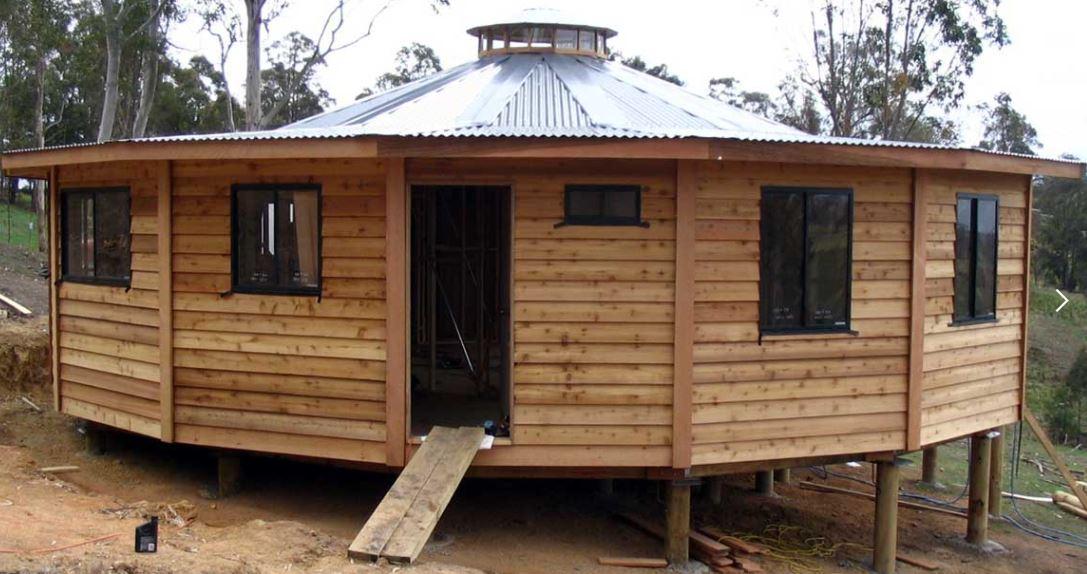 Yurt homes from quick build prefab kits - Quick built homes ...