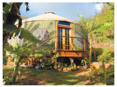 Yurt Living Has Become Hawaii S Newest Housing Sensation